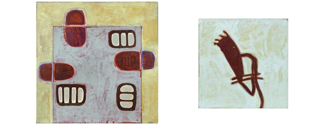 Foto zweier Arbeiten